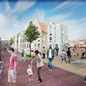 In nieuwe 'Rode Loper' van Delft blijft eeuwenoud hekwerk toch staan