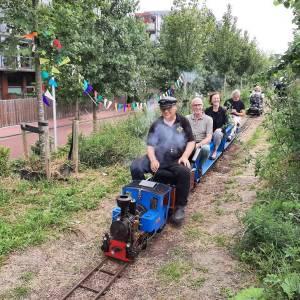 Wethouder Huijsmans opent het Delftzichtpark