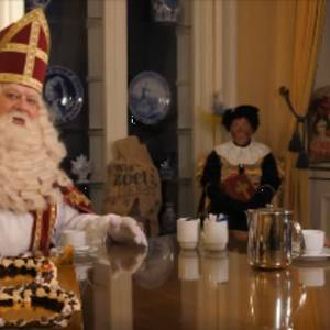 Sinterklaas is nu ook in Delft