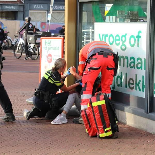 Steekpartij Oude Delft