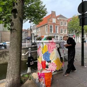 Delft wordt steeds kleurrijker