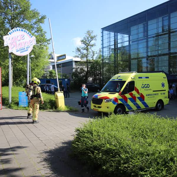 Kartbaan Delft gewoon open na ongeluk, geen reden voor verder gevaar