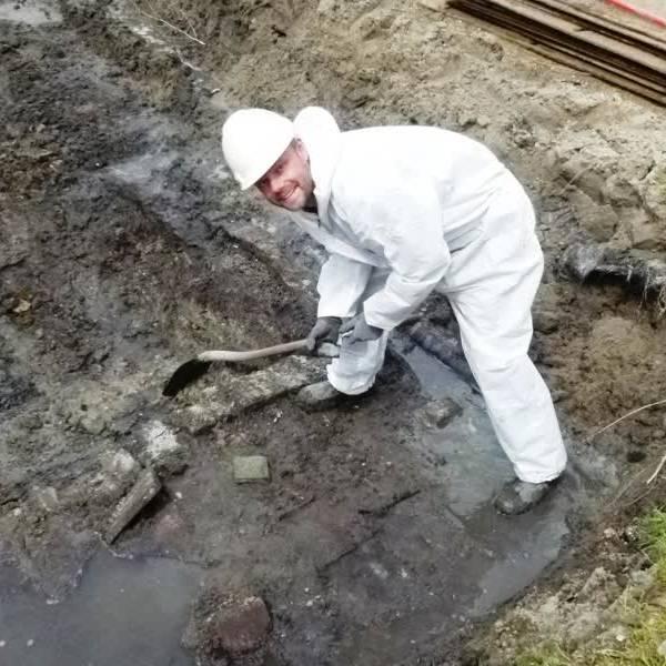 'Nu begint het werk pas', na de opgraving aan de Kruisstraat