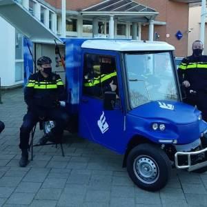 Op de koffie bij de politie