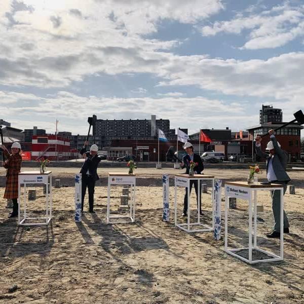 PoortMeesters Delft van start: meer dan honderd woningen rondom bijzondere binnentuin