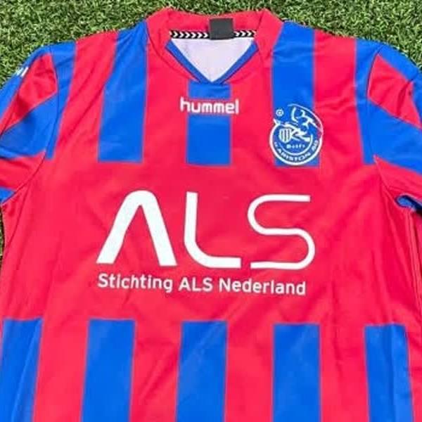 Delftse studentenvoetbalvereniging v.v. Ariston'80 zet zich in voor ALS
