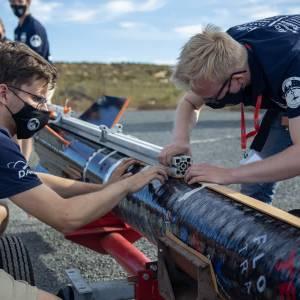 Na veel pech blijft er nog één kans over om Delftse raket te lanceren