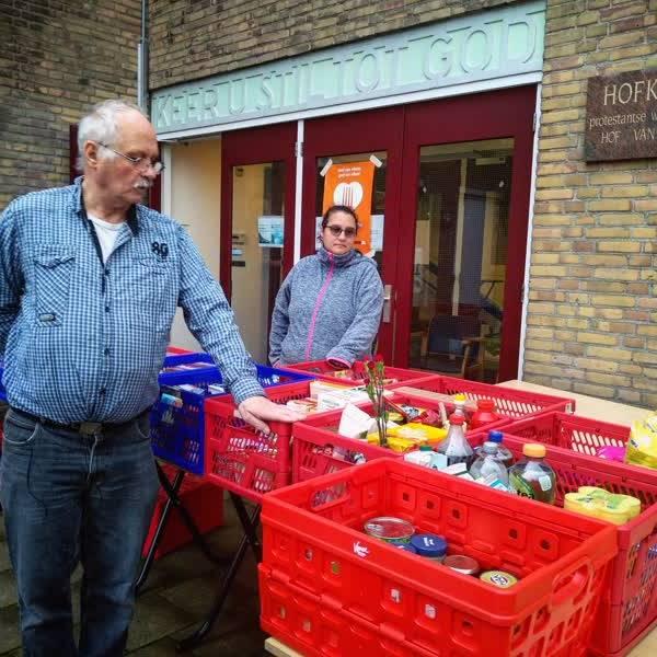 Inzamelactie Voedselbank Delft gaat gewoon door