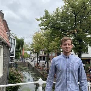 Volt wil als nieuweling de Delftse raad in: ' Contact met bewoners is belangrijk voor ons'