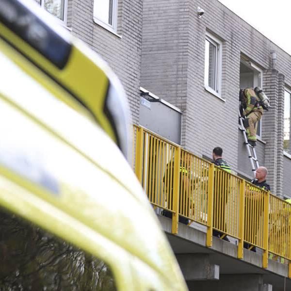 Man zwaargewond na gasexplosie in zijn woning aan de Syriësingel in Delft