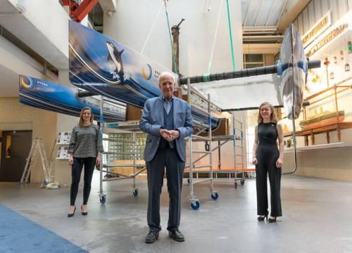 TU Delft maakt eerste vliegende waterstofboot ter wereld