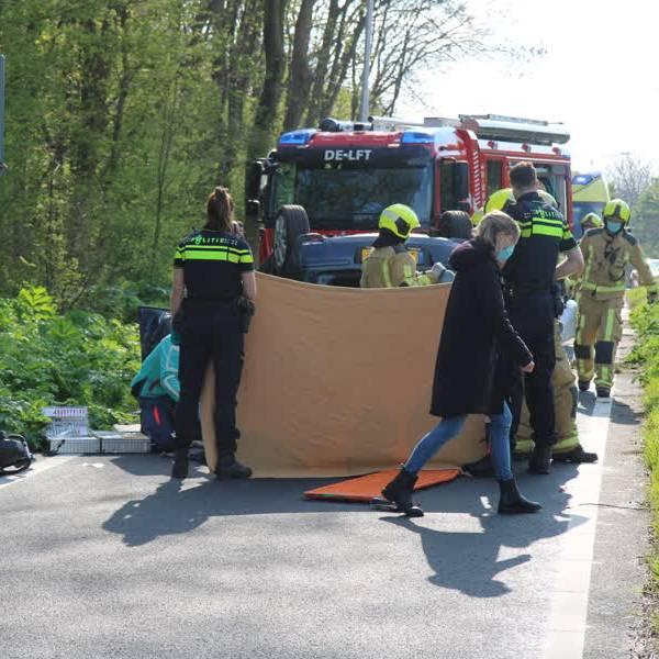 60-jarige vrouw overleden na ongeluk in Delft