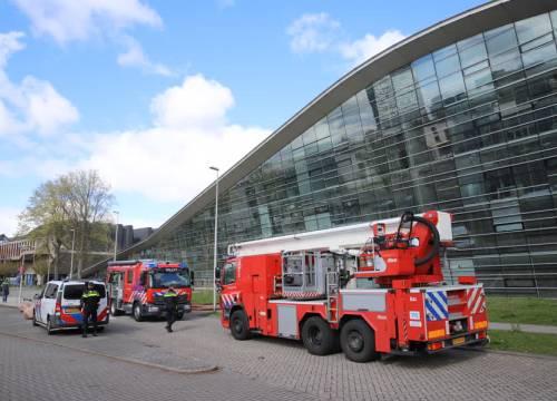 Brand in universiteitsbibliotheek TU Delft
