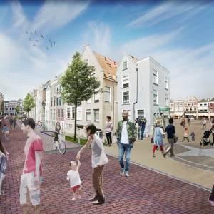 Belangenverenigingen centrum noemen plannen voor Delftse Rode Loper onverantwoord