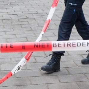 Explosie in een flatwoning aan de Bachsingel in Delft