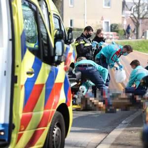 Vrouw zwaargewond na val van fiets in Delft